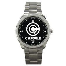 Capsule Corp Dragon Ball Saiyan Son Goku Anime Stainless Steel Men's Watch