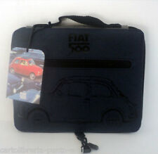 Borsellino Custodia Porta Ipad Fiat 500 blue