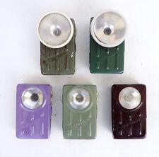 Lot of 5 Vintage Military Flashlight * Svetlina * Signal Light