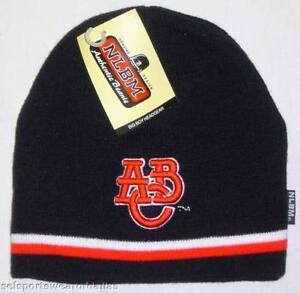 New! Navy Negro League Atlanta Black Crackers Embroidered Beanie -  Skull Cap
