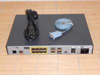 Cisco 1801-M/K9 Router ADSL Annex M + ISDN Backup