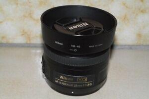 Nikon AF-S DX NIKKOR 35mm f/1.8G FREE POST.