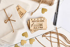 Save The Date, Wedding Stationary, Wooden Save The Date