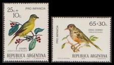 Birds Argentine Stamps