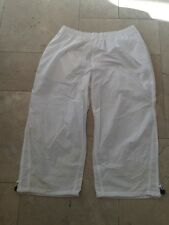 Champions Men White 3/4 Shorts UK XL