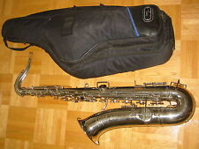 """Old French Tenor Saxophone """"Couesnon Monopol"""" Tenorsaxophone needs service"""