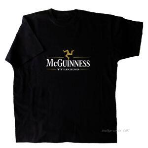 John McGuinness inspired T-Shirt Isle of Man TT Legend small to XXXL sizes