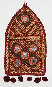 Indian Handicrafts Vintage Ethnic Traditional Mirror Wall Door Hanging Art Decor