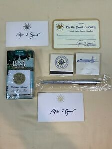 Vice President Spiro Agnew Signature Card, Matches Air Force 2, & More -  D805