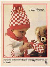 PUBLICITE ADVERTISING 104 1966 PRISUNIC 'Charlotte' vêtements pour enfants