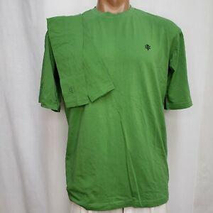 Coolibar Medium Shirt NWOT S/S Tee Crew Green Sleeves UPF 50+ Sun Protection