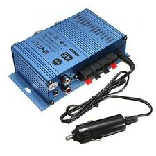 12V 6A Mini Hi-Fi Audio Stereo Power Amplifier For Car Motorcycle Boat RCA jack