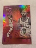 2019-20 Panini Chronicles Essentials Coby White Rookie Chicago Bulls #216 Pink