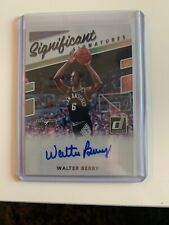 2017 - 18 Donruss Basketball Walter Berry Significant Signatures Auto