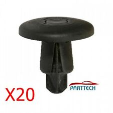 X20 MAZDA - Peugeot: 206, 307, 406 , 607 - wheel arch cover fasteners - Push-In