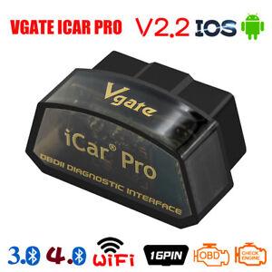 VGATE ICAR PRO Bluetooth 3.0/ 4.0/ Wifi V2.2 OBD2 Car Diagnostic For Android IOS