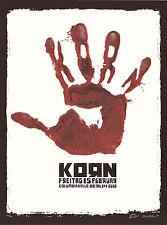 Mint Emek 2008 Korn Columbiahalle Berlin Poster 138/200