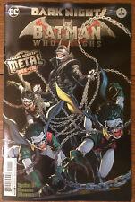 BATMAN WHO LAUGHS #1  Foil Cover - 1st PRINT - Joker - DARK NIGHTS METAL - NM
