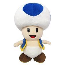 """Super Mario Blue Toad 8"""" Plush Toy"""