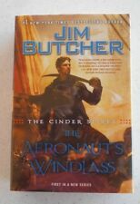 The Aeronaut's Windlass by Jim Butcher, SIGNED, 1st Edition, HC / DJ, 2015