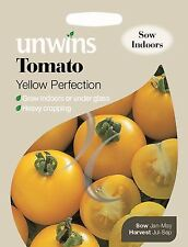 Unwins Pictorial Packet - Vegetalbe - Tomato Yellow Perfection - 50 Seeds