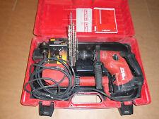 Hilti TE 6 S + TE 6 DRS Bohrmaschine Bohrhammer  Rechnung MwSt.