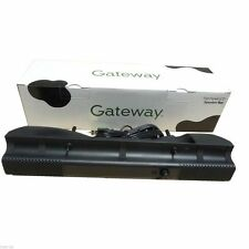 Gateway MultiMedia USB Flat Panel LCD Monitor Speaker Bar System 2522547R