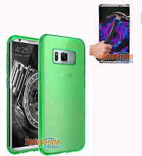 Funda TPU LISA NEGRA Samsung Galaxy S8 + PROTECTOR CRISTAL TEMPLADO