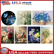 Flowers 11Ct Stamped Cross Stitch Kits Needlework Embroidery Home Wall Art