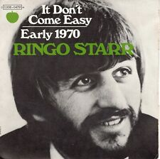 7inch RINGO STARR It don't come easy FRANCE 1971 EX     (S1770)