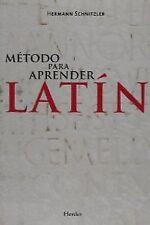 Método para aprender latín. NUEVO. Nacional URGENTE/Internac. económico. FORMACI