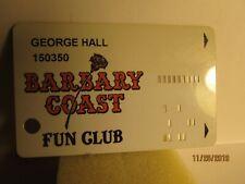 Barbary Coast Las Vegas,Nv -players slot card-closed casino-old card version