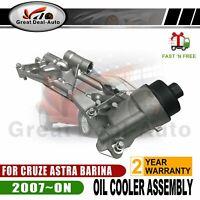 OIL Filter Housing Assembly COOLER For HOLDEN CRUZE JG JH 1.8 AH ASTRA TM BARINA