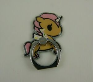 Unicorn cell ring for iphone pink Neon Star for phone stick on