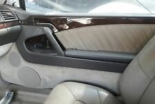 95 Mercedes S500 COUPE RIGHT SIDE WOOD GRAIN DOOR TRIM PANEL COMPLETE NICE OEM