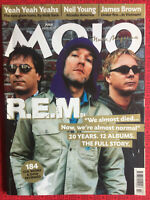 Mojo magazine July 2003 REM cover, Neil Young, James Brown, Lee Perry