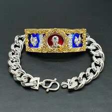 Bracelet LP Ruay Wat Tako Temple Chicken Talisman Trimas 59 Thai Buddha Amulet