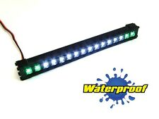 "Gear Head RC 1/10 Scale Trek Torch 5"" LED Light Bar - White and Green GEA1353"