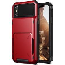 VRS Design Damda Folder Wallet Case for iPhone X - Red