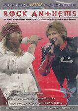 SUNFLY Rock Anthems - Karaoke DVD