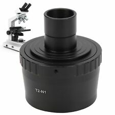 23.2mm Microscope T Mount Lens Adapter T2 Mount Adapter Ring for Nikon N1 Mount