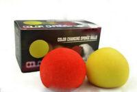 Color Change Sponge Ball Magic Tricks,Magicians Toys,Stage Magic,Funny,Gimmick