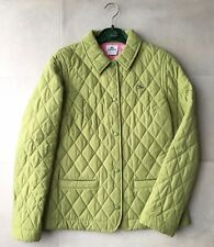Lacoste quilted green coat / jacket, Women's size 38