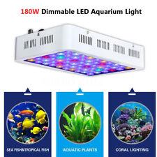 180W Dimmable Full Spectrum LED Aquarium Light Grow Fish Tank Reef Coral