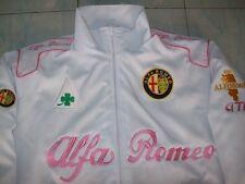 NEU Alfa Romeo Fan - Jacke alle Modell weiß (rosa) jacket veste jas giacca jakka