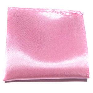 Men's Solid Handkerchief Silk Pocket Square Hanky Buiness Party Paisley Hankies
