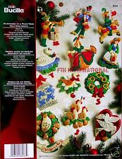Bucilla 12 Days of Christmas ~ Felt Ornament Kit #86066 Partridge in a Pear Tree