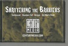 Sentenced Shadows Fall Krisium Old Man's Child Century Media Cassette Tape Promo