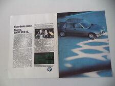 advertising Pubblicità 1983 BMW 524 TD