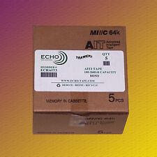5 Stück, Sony SDX3-100C, AIT-3 Data Cartridge Datenkassette von Echo, NEU & OVP